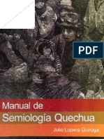 Manual de Semiologia Quechua