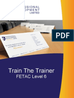 Train the Trainer Course 1