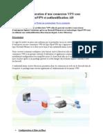 Pfsense – Configuration d'une connexion VPN