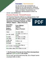 Os Pronomes