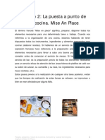 Capitulo 2- Mise an Place