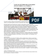 Las Mentiras de Los Sectores Reaccionarios Católicos en Torno a La Familia.- I
