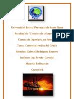Comercializacion Del Petroleo-Gabriel Rodriguez Romero