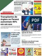 Jornal União - Ediçao de 21 de Fevereiro à 08 de Março de 2013
