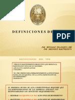 2.- Definiciones Del TPM