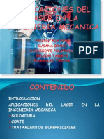 Aplicaciones Del Laser en La Ingenieria Mecanica