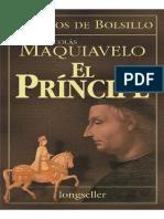 Maquiavelo, Nicolas - El Principe