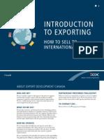 International Trade in Canada