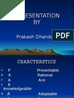 PRAKASH DHANDOLE