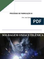 Aula 1 Soldagem - Soldagem Oxiacetilenica
