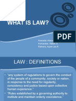What is Law (Group1)