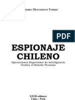 Vladimiro Montesinos - Espionaje Chileno