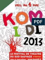 Livret KOMIDI 2013