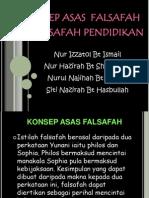Konsep Asas Falsafah