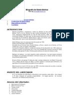 Biografia Simon Bolivar