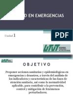 Sanidad en Emergencias I
