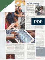 Prima Vo 2013 - Digitalisering onderwijs niet te stuiten