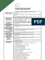 Lista útiles 2º año, 2013