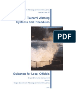 oregon tsunami warning systems and procedures