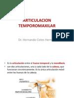 ARTICULACIONES TEMPOROMAXILAR