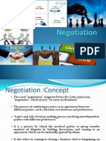 Negotiation Concept Unit1