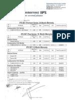 IPS Dealer Price