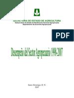 Desempeño Sector Agropecuario 1998-2007