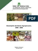 Desempeño Sector Agropecuario 2000-2009
