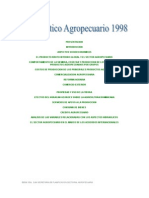 Diagnóstico Agropecuario 1998