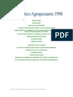 Diagnóstico Agropecuario 1998