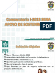 Convocatoria Apoyo 2013 Socializacion Aprendices