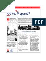 wildfire are you prepared