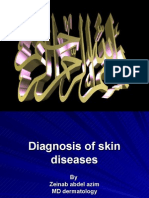 Diagnosis of Skin Diseases