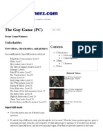 The Guy Game (PC) Cheat Codes, Hints, And Help