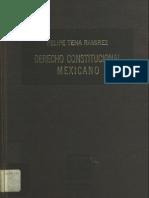 Derecho Constitucional Mex- Tena Ramirez