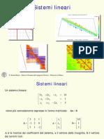 Lez 03 Sistemi Lineari