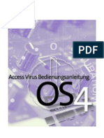 Access Virus User Manual German