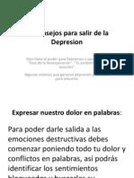 10 Consejos Para Salir de La Depresion
