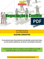 aula 1 e 2 - o que é negociação e conflito