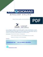 Como Utilizar Euroidiomas Engish Online3.0