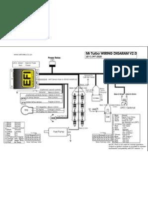 EFI2 Harness | Fuel Injection | Transportation EngineeringScribd