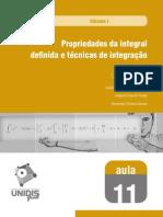 Calculo I - Integrais