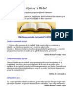La Biblia - ¿Palabra de Dios? Parte 1