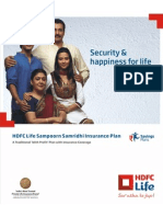 Hdfc Sam Poor n Sam Rid Hi Insurance Plan