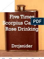 Five Times Scorpius Caught Rose Drinking