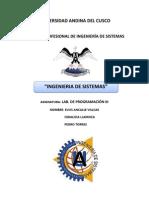 Informe Ing Sistemas