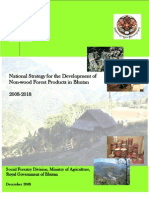 National Strategy for the Development of Non-wood Forest Products in Bhutan - 2008-2018