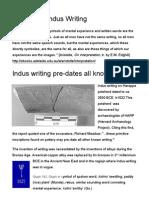 Indus Writing Corpora