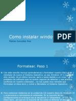 Como Instalar Window XP