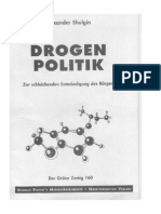 [de] Shulgin, Alexander - Drogenpolitik